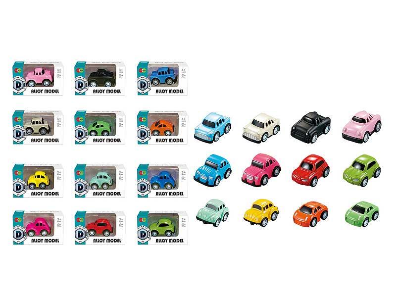 Die Cast Car Pull Back(6S12C) toys