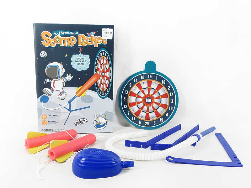 Press Turbo Rocket toys