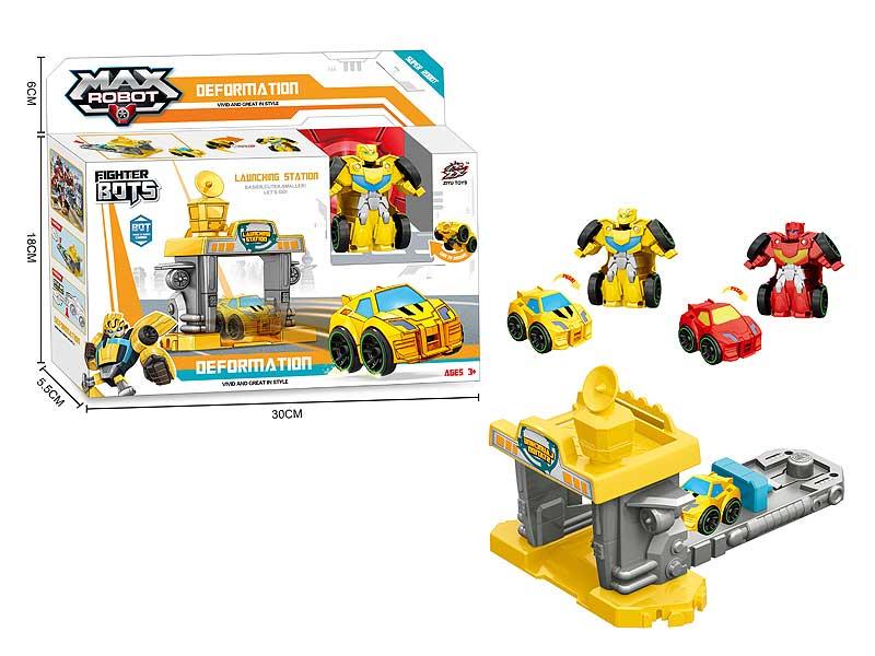 Press Transforms Car Set(2C) toys