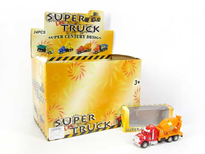 Friction Construction Truck(24in1) toys
