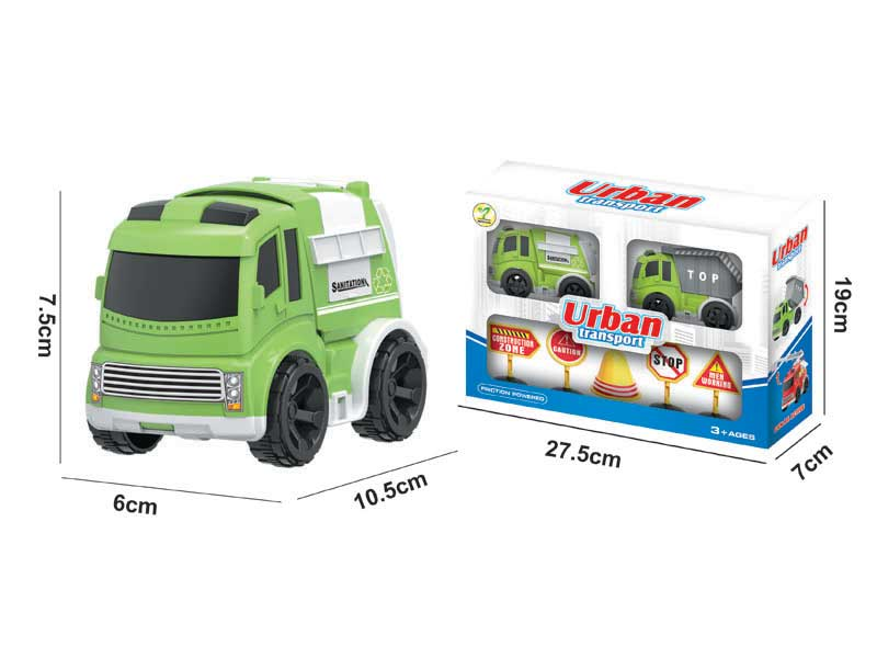Friction Car Set(2in1) toys