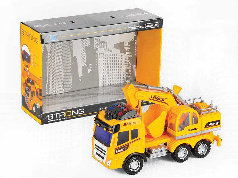 Friction Construction Truck W/M toys