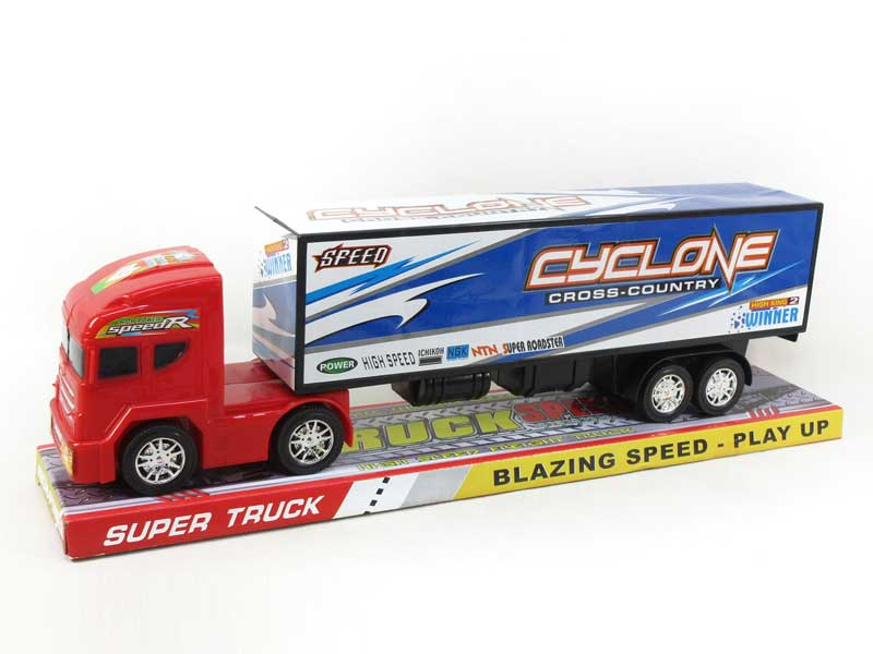 Friction Container Truck(2C) toys