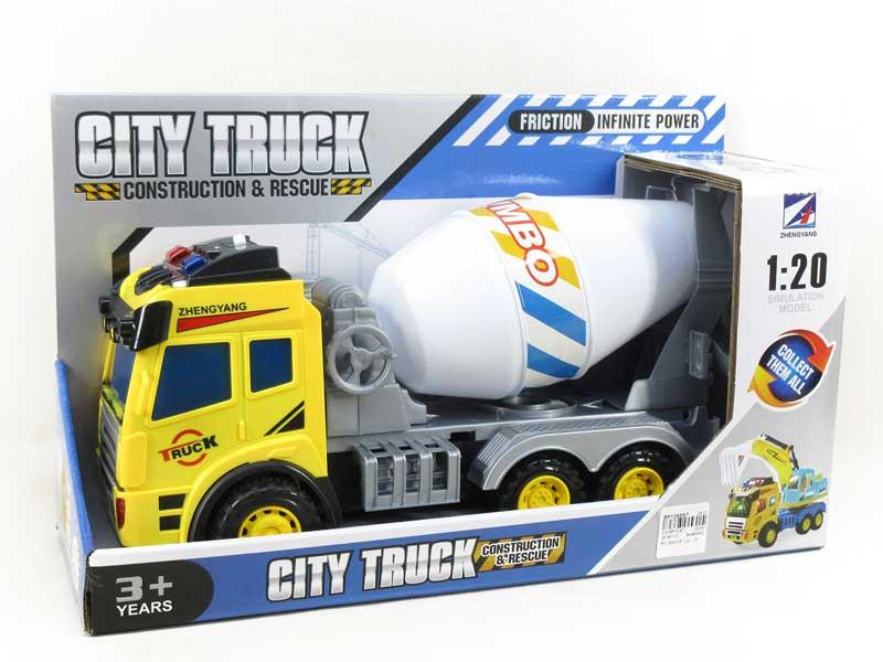 Friction Construction Truck W/L_M(2C) toys