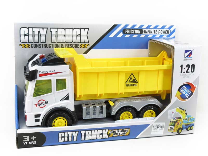 Friction Construction Truck(2C) toys