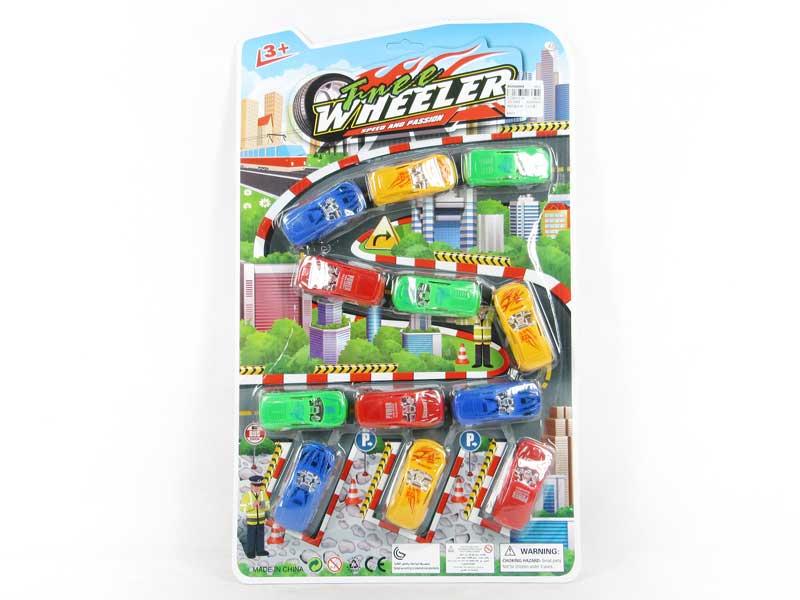 Free Wheel Car(12in1) toys