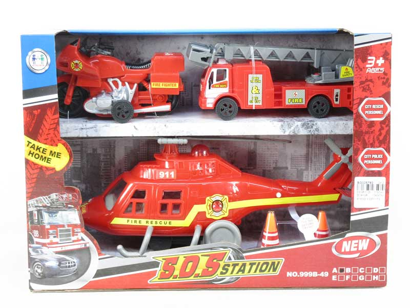 Free Wheel Airplane Set W/L_S toys
