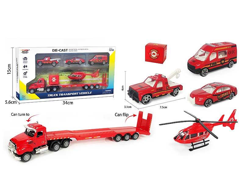 Die Cast Tow Car Free Wheel toys