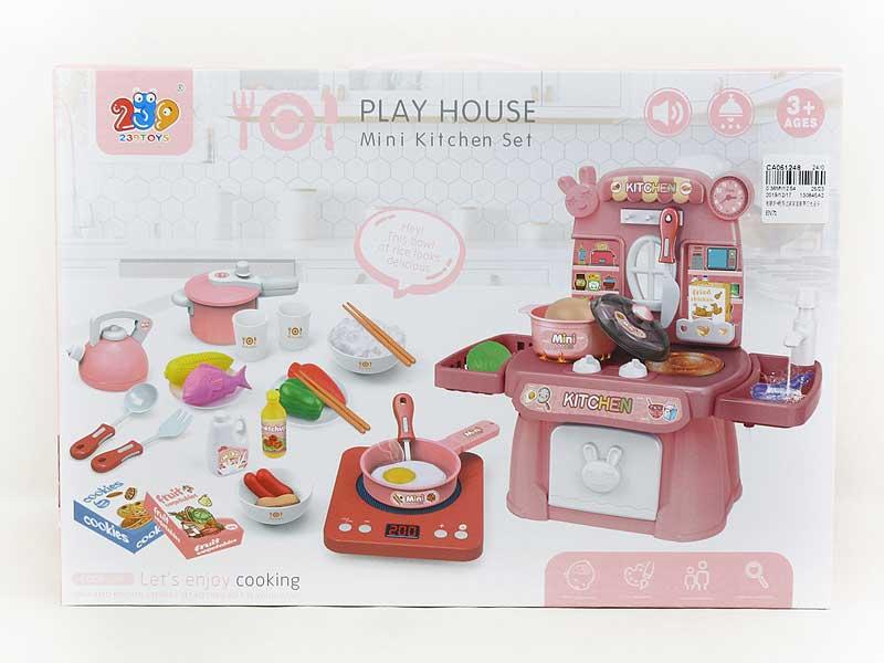 Electromagnetic Furnace & Kitchen Set W/L_M toys
