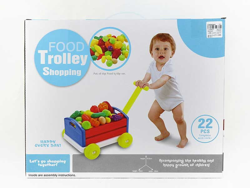Fruit Storage Car(22pcs) toys