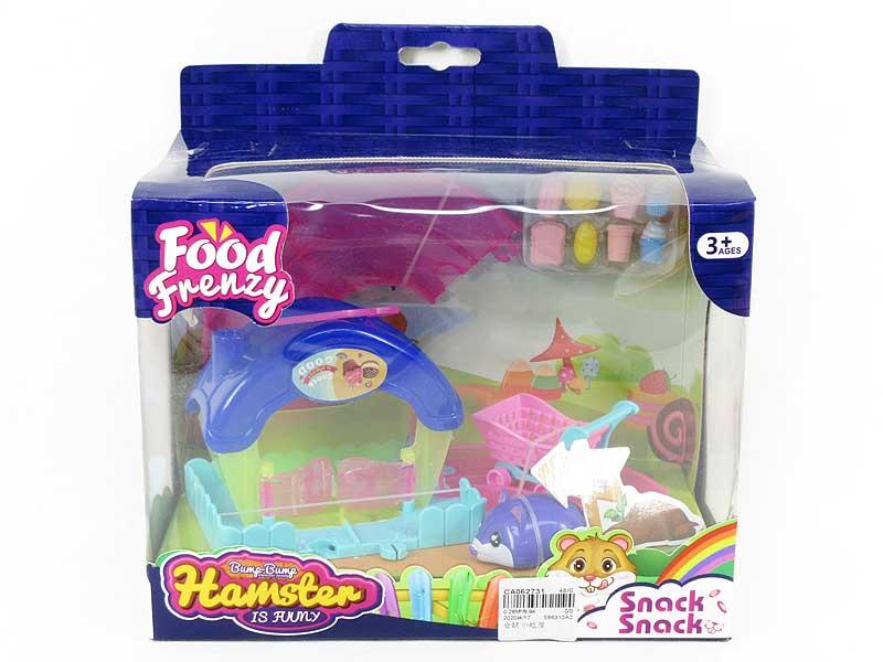Hamster House toys