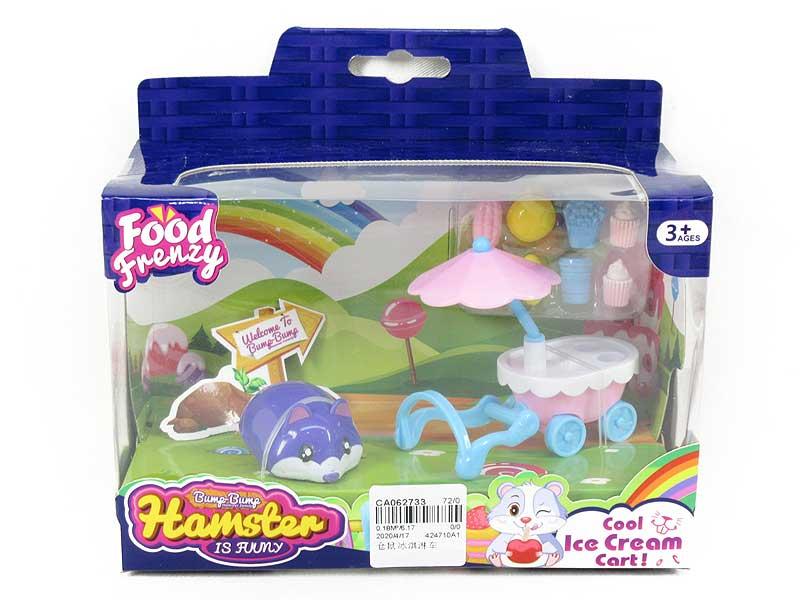Hamster Icecream Car toys