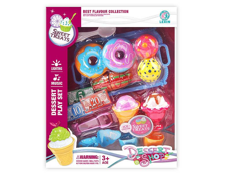 Ice Gream & Bread Set toys