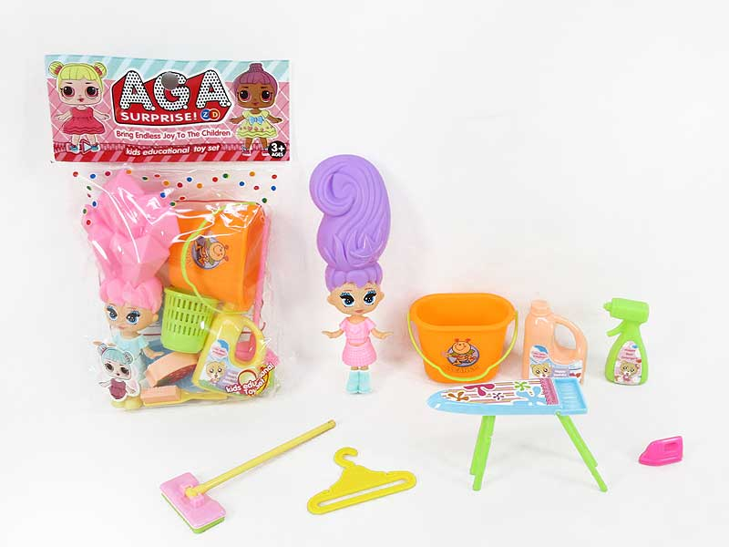 Sweep The Tool & Doll(2S) toys