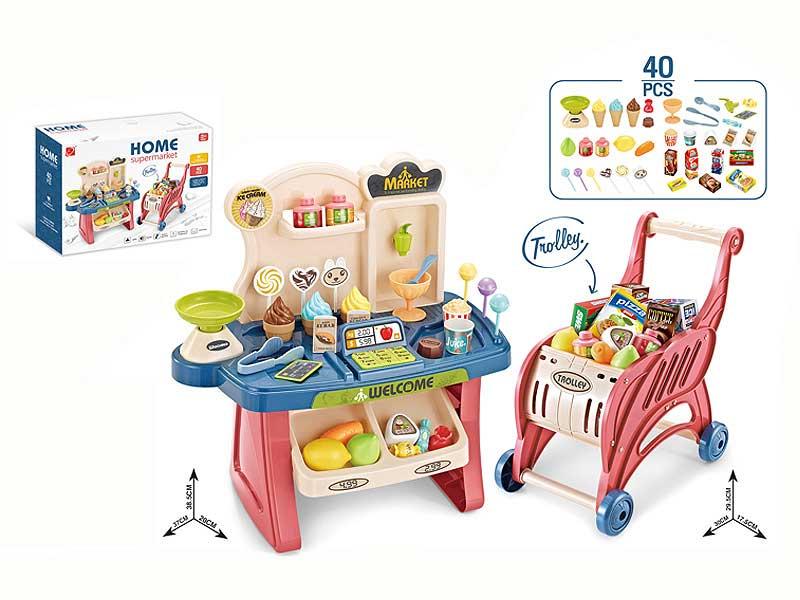 Supermarket W/L_S & Shopping Car toys