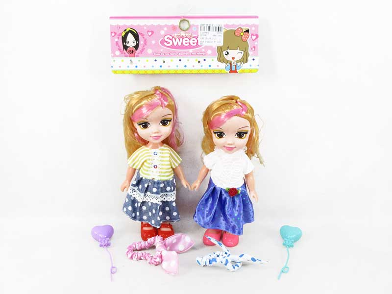 Wholesale 8 inch vinyl doll set fashion doll with music toys