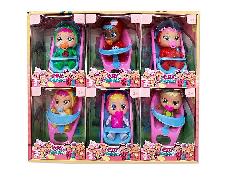 6inch Doll Set(6in1) toys