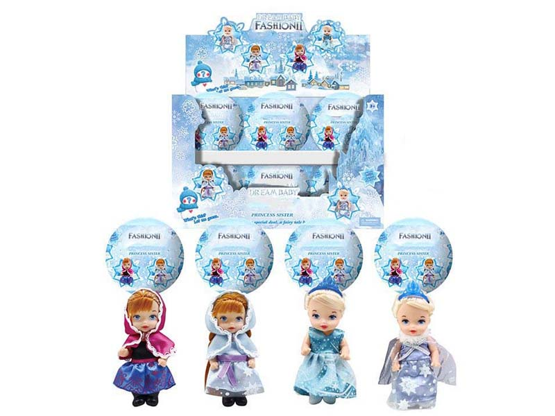 6inch Doll Set(12in1) toys