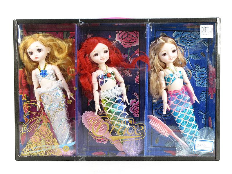 12inch Mermaid Set(3in11) toys