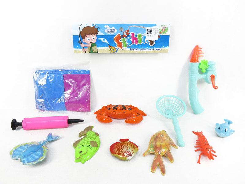 Fishing Game & Fish Pond toys