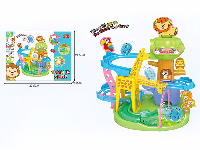 Tumbler Slide toys