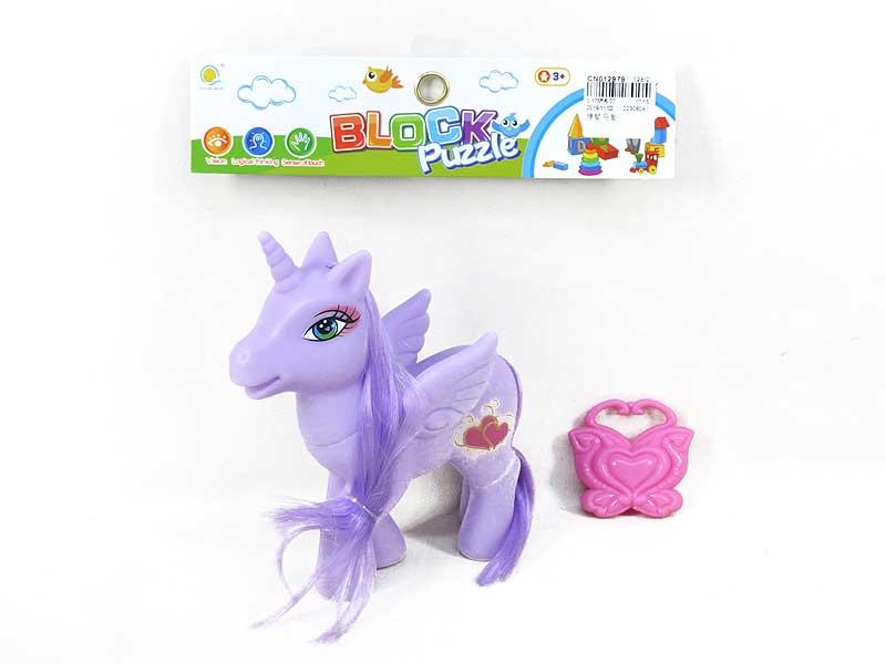 Latex Horse Set toys