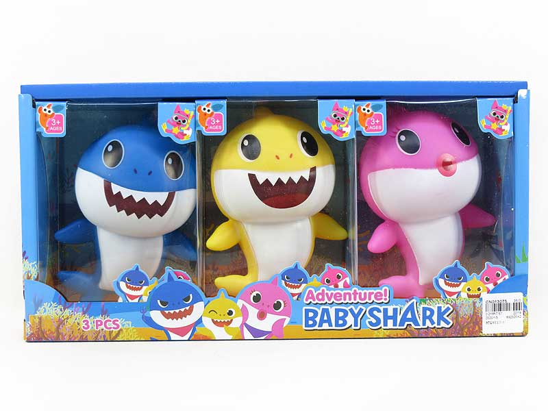 Latex Shark Baby(3in1) toys