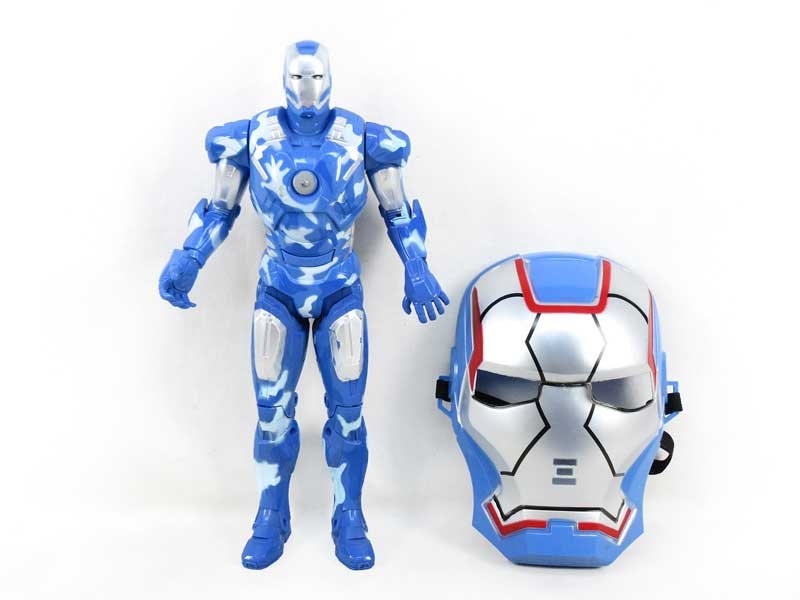 Super Man W/L_S & Mask toys