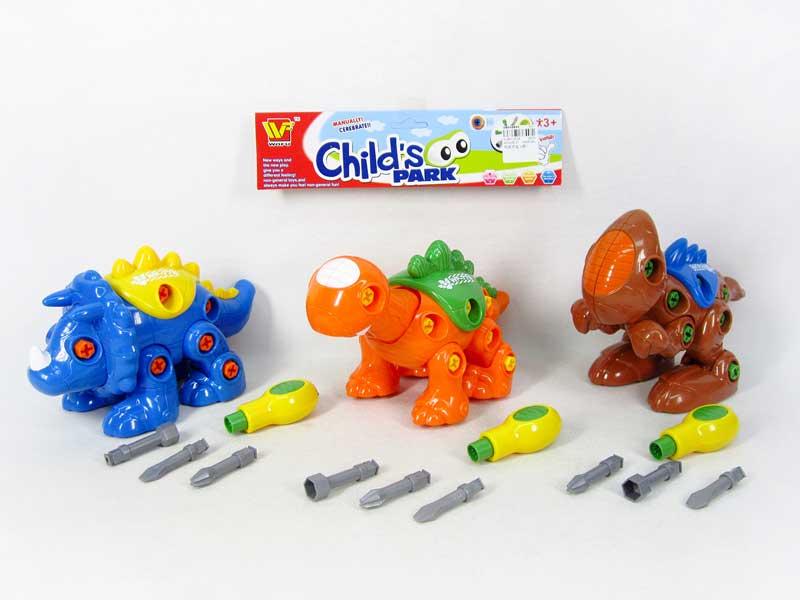 Diy Dinosaur(3S) toys