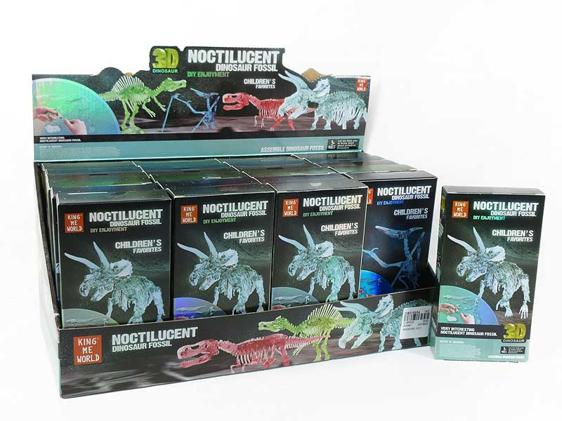 Diy Luminous Dinosaur Skeleton(24in1) toys