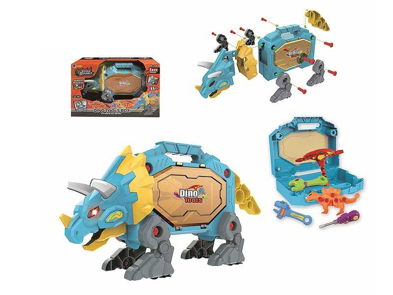 Diy Dinosaur W/L_S toys