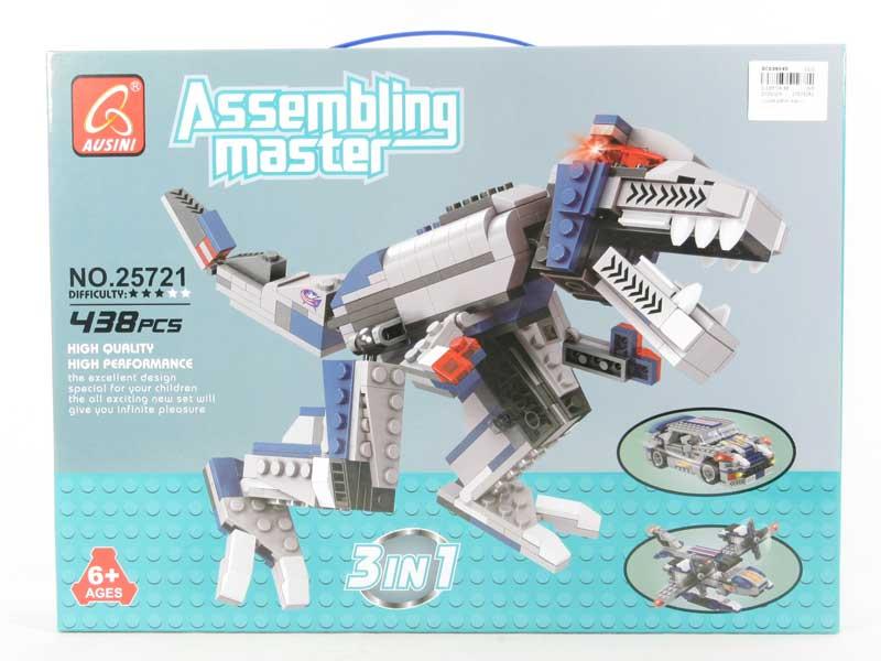 Blocks(438pcs) toys