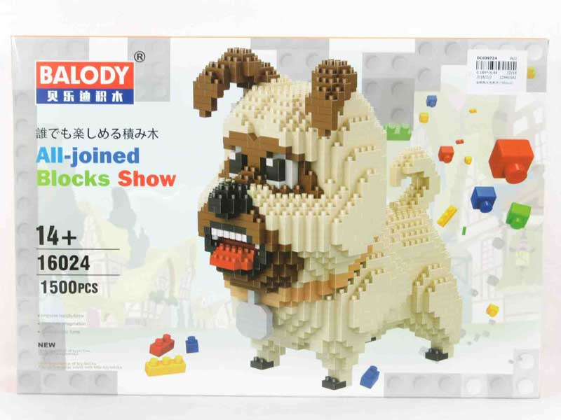 Blocks(1500pcs) toys