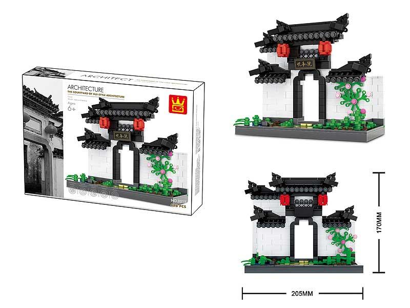 Blocks(486pcs) toys