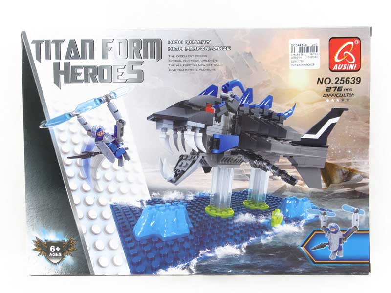 Blocks(276PCS) toys