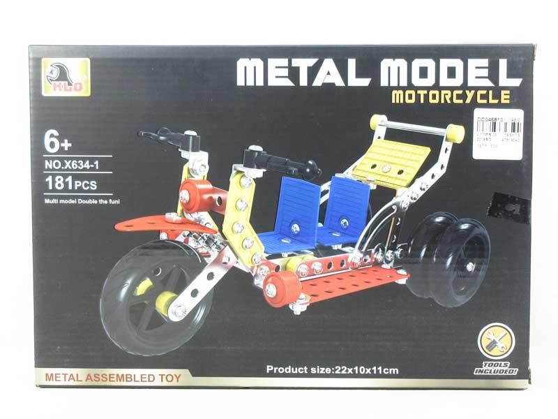Metal Blocks(181PCS) toys