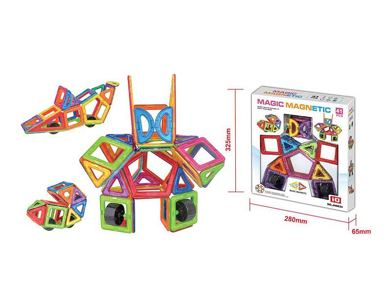 Magnetic Blocks(41PCS) toys
