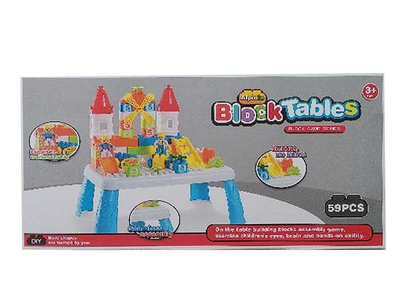 Building Block Table toys