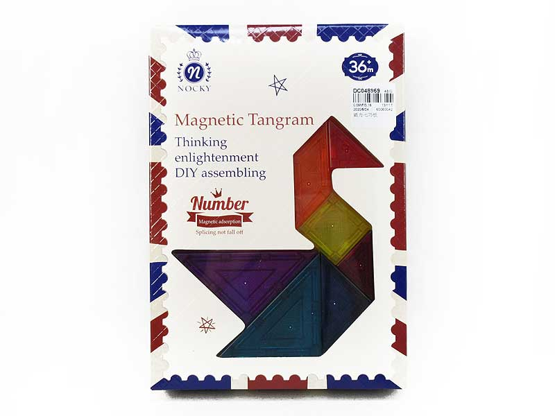 Magnetic Tangram toys