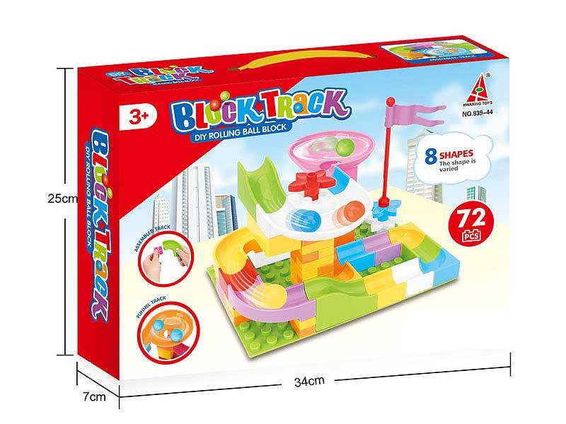 Blocks(72PCS) toys