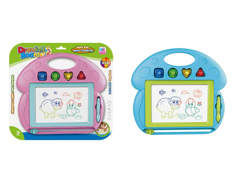 Magnetic Color Drawing Board(2C) toys