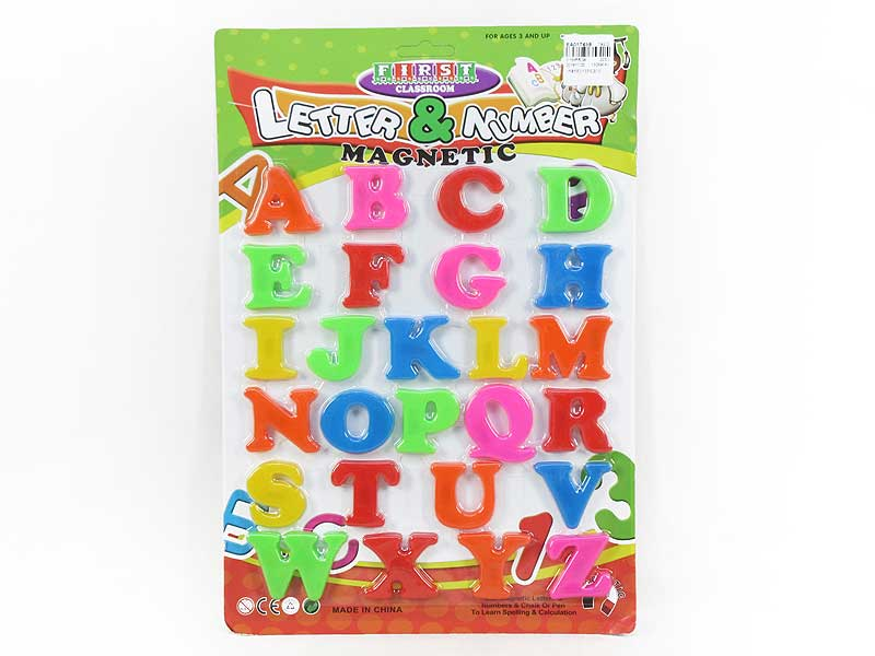 Magnetic Capital Letters(26in1) toys
