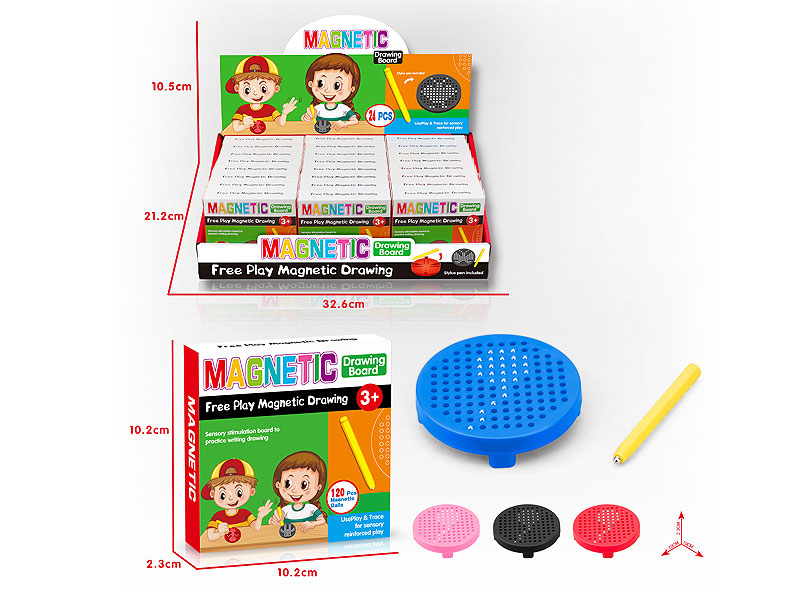 Magnetic Sketchpad(24in1) toys
