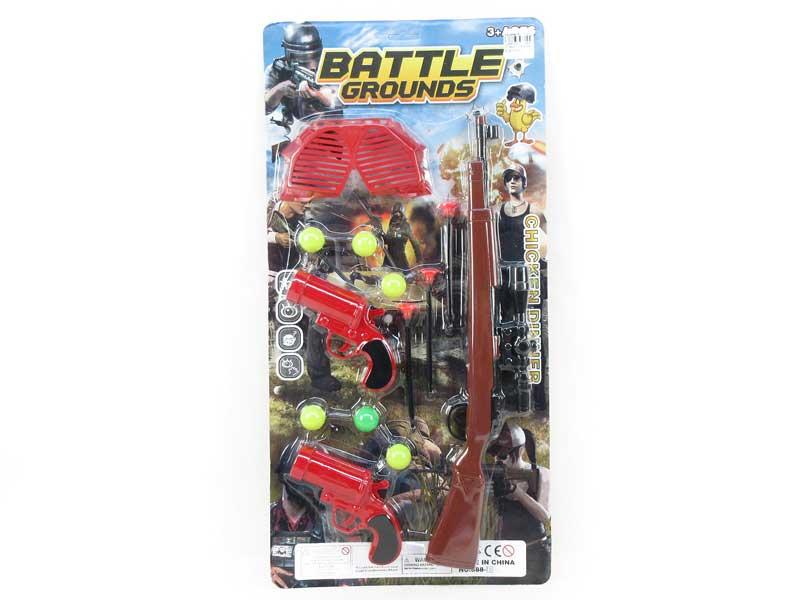 Gun Set(3in1) toys