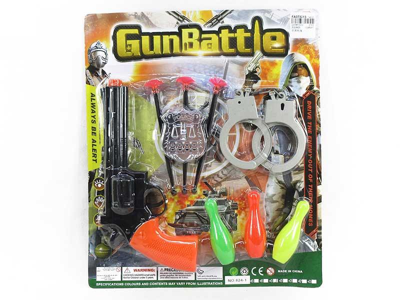 Soft Bullet Gun Set toys