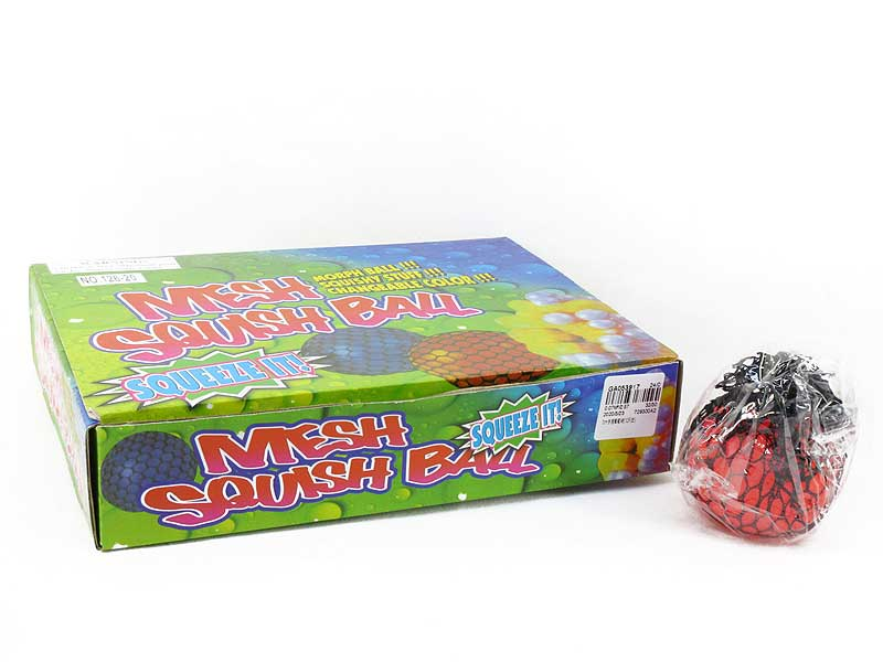 7cm Mesh Squish Ball(12in1) toys