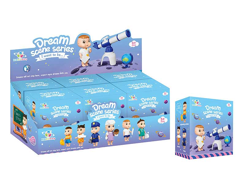 Doll Set(6in1) toys