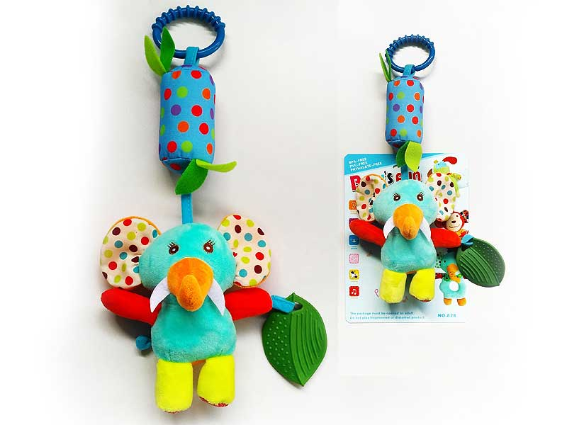 Popular Baby Toys Stuffed Music Bell with Teether Soft and Good Quality toys