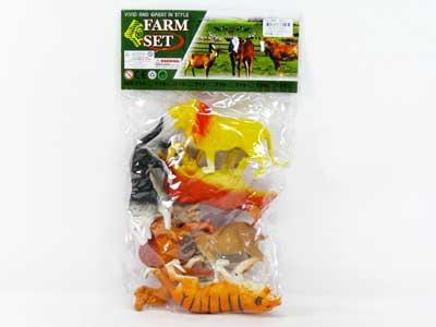 Animal Set(6pcs) toys