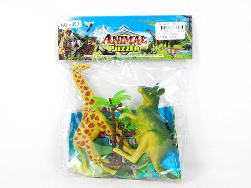 Animal Set(2in1) toys
